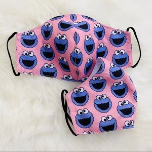 Cookie Monster Breathable Kids Face …